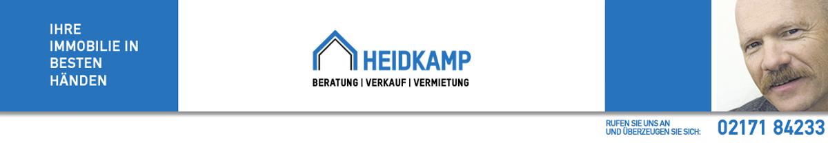 Heidkamp Immobilien in Leverkusen – Beratung – Verkauf – Vermietung – Willkommen
